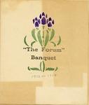 1914 Forum Banquet Program