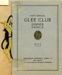 First Annual Glee Club Dinner-Dance Program