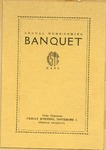 Annual Homecoming Banquet Program