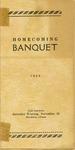 Homecoming Banquet of Fort Hays Kansas State University Program