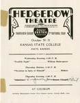 Hedgerow Theatre cultures of Fort Hays Kansas State College Program
