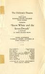 Snow White and the Seven Dwarfs Performance in Children's Theatre of Fort Hays Kansas College Program