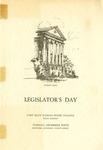 Legislator's Day of Fort Hays Kansas State College Program
