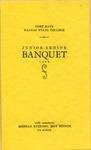 Junior-Senior Banquet of Fort Hays Kansas State College Program