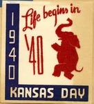 1940 Kansas Day Banquet Program