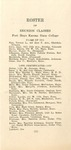 Roster of Reunion Classes of Fort Hays Kansas State College