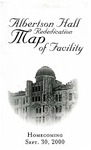 Albertson Hall Rededication: Map of Facility