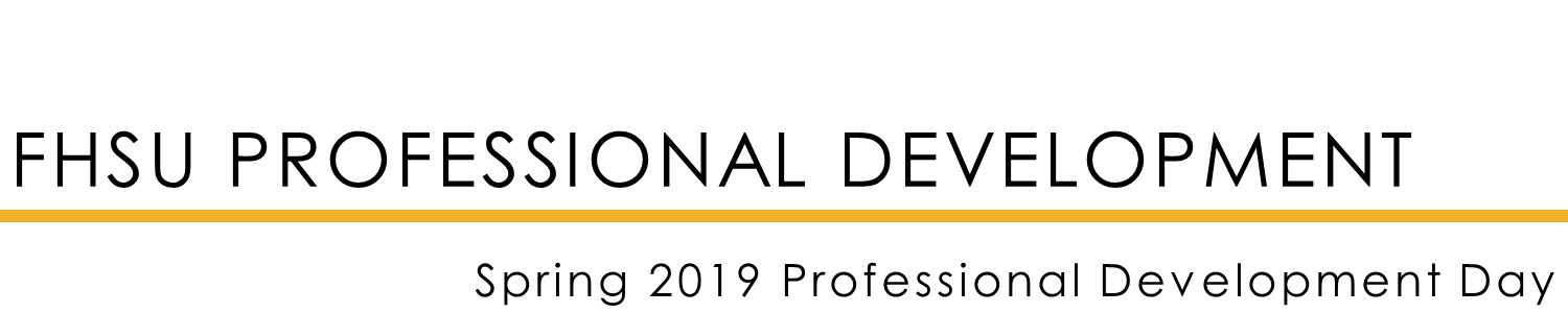 Spring 2019 Professional Development Day