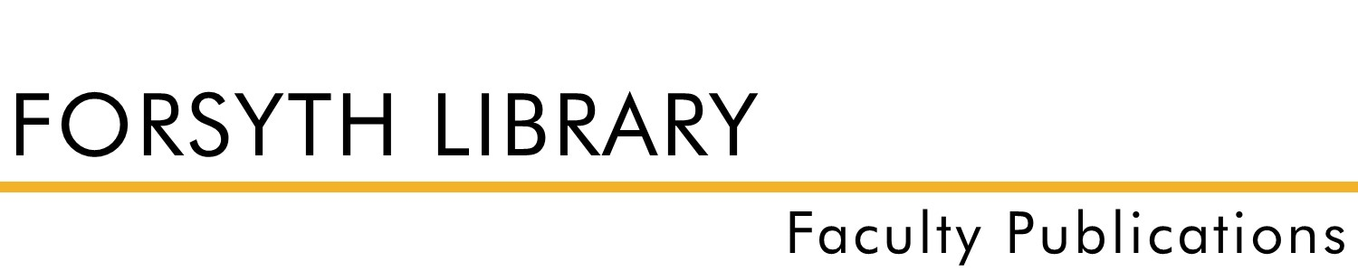 Forsyth Library Faculty Publications