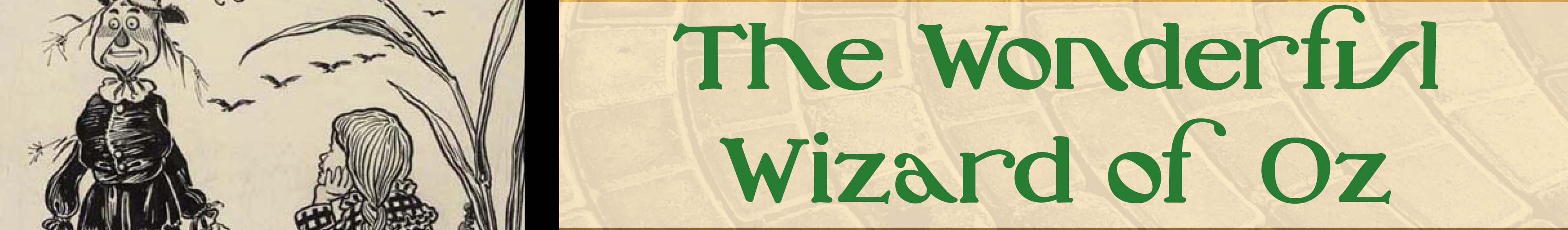 Wizard of Oz Promotional Materials