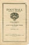 Kansas Wesleyan vs. Kansas State Teachers College football program by Kansas State Teachers College of Hays