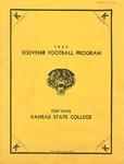 1933 Souvenir Football Program