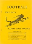 Football Fort Hays Kansas State College by Fort Hays Kansas State College