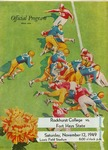 Rockhurst College vs. Fort Hays State football program by Fort Hays Kansas State College