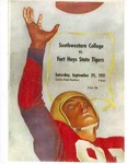 Southwestern College vs. Fort Hays State Tigers football program by Fort Hays Kansas State College