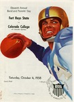 Fort Hays State vs. Colorado College of Colorado Springs football program by Fort Hays Kansas State College