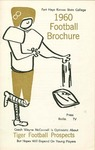 1960 Fort Hays Kansas State College football brochure