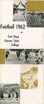 1962 Fort Hays Kansas State College football brochure