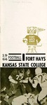 1964 Fort Hays Kansas State College football brochure by Fort Hays Kansas State College