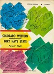 Colorado Western vs. Fort Hays State football program by Fort Hays Kansas State College
