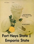Fort Hays State vs. Emporia State football program by Fort Hays Kansas State College