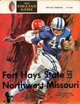 Fort Hays State vs. Northwest Missouri football program by Fort Hays Kansas State College