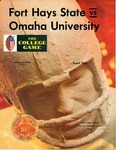 Fort Hays State vs. Omaha University football program by Fort Hays Kansas State College