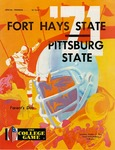 Fort Hays State vs. Pittsburg State football program by Fort Hays Kansas State College