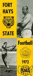 1972 Fort Hays Kansas State College football brochure by Fort Hays Kansas State College