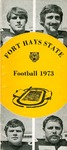 1973 Fort Hays Kansas State College football brochure by Fort Hays Kansas State College