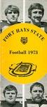 1973 Fort Hays Kansas State College football brochure by Fort Hays Kansas State College