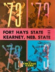 Fort Hays State vs. Kearney State football program by Fort Hays Kansas State College