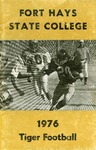 1976 Fort Hays Kansas State College football brochure by Fort Hays Kansas State College