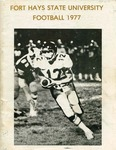 1977 Fort Hays State University football brochure