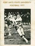 1977 Fort Hays State University football brochure by Fort Hays State University