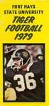 1979 Fort Hays State University football brochure