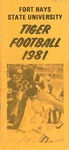 1981 Fort Hays State University football brochure
