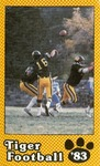 Tiger Football Schedule '83 by Fort Hays State University