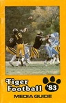 Tiger Football '83 Media Guide