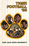 1985 Fort Hays State University football brochure