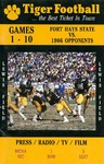 Fort Hays State University '86 Football Media Guide by Fort Hays State University