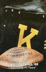 Tiger Football '88