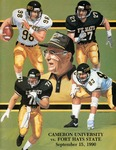 Cameron University vs. Fort Hays State football program by Fort Hays State University