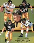 Arkansas Tech vs. Fort Hays State football program by Fort Hays State University