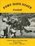 Chadron State vs. Fort Hays State football program by Fort Hays State University