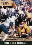 1992 Tiger football schedule by Fort Hays State University