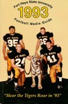 Fort Hays State University 1993 Football Media Guide by Fort Hays State University