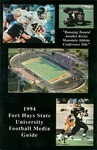 Fort Hays State University 1994 Football Media Guide by Fort Hays State University