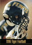 1996 Tiger Football Schedule by Fort Hays State University