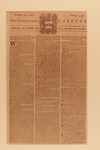 Front page of the November 30, 1769 edition of The Pennsylvania Gazette by Benjamin Franklin 1706-1790